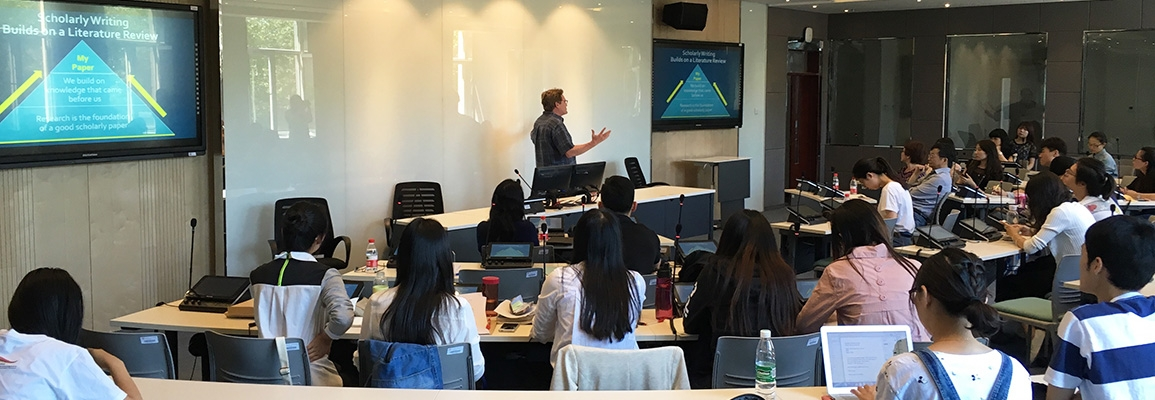 Beijing International Studies University Writing Class 2016