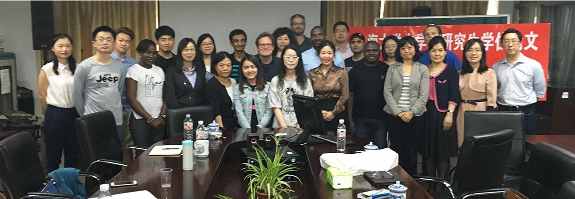 Shanghai University Writing Class 2016