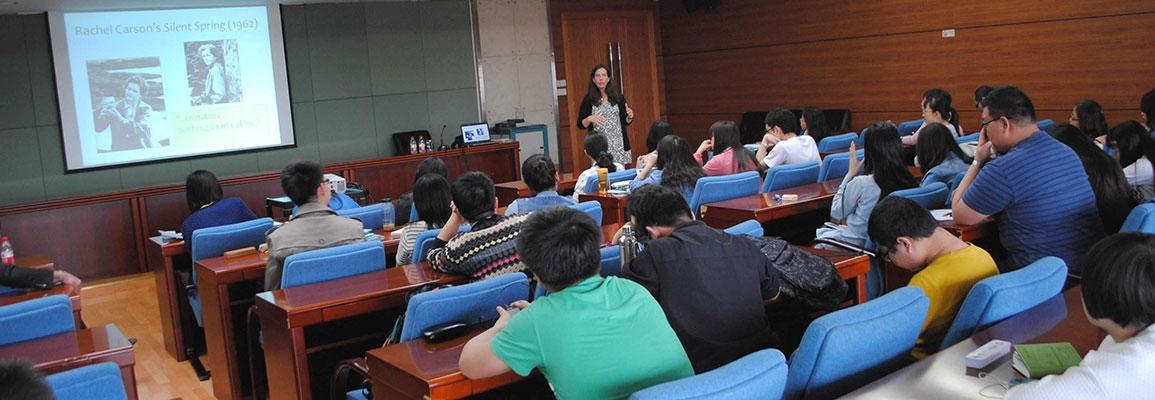 Teaching at NEU, 2015